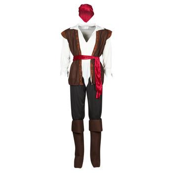 vaatteet Miehet Naamiaisasut Fun Costumes COSTUME ADULTE PIRATE THUNDER Monivärinen
