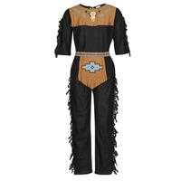 vaatteet Miehet Naamiaisasut Fun Costumes COSTUME ADULTE INDIENNE SHE-WOLF Monivärinen