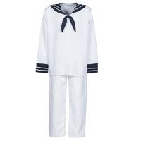 vaatteet Miehet Naamiaisasut Fun Costumes COSTUME ADULTE MARIN BLANC Valkoinen