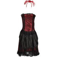 vaatteet Naiset Naamiaisasut Fun Costumes COSTUME ADULTE SALOON GIRL Monivärinen