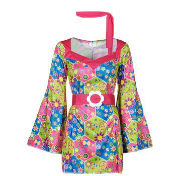 vaatteet Naiset Naamiaisasut Fun Costumes COSTUME ADULTE SWEET MEADOW Monivärinen
