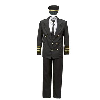 vaatteet Miehet Naamiaisasut Fun Costumes COSTUME ADULTE PILOTE Monivärinen