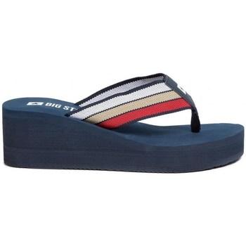 kengät Naiset Varvassandaalit Big Star FF274A301 Tummansininen