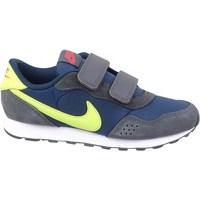 kengät Lapset Matalavartiset tennarit Nike MD Valiant Harmaat, Keltaiset, Tummansininen