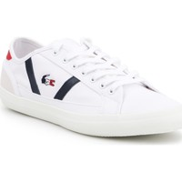 kengät Miehet Matalavartiset tennarit Lacoste Sideline 219 1 COU CMA 7-37CMA0029407 white