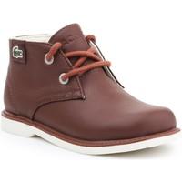 kengät Lapset Bootsit Lacoste Sherbrook HI SB SPC 7-30SPC201177T brown