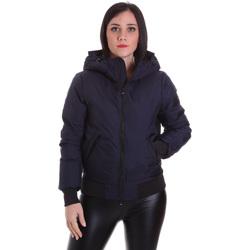 vaatteet Naiset Takit Refrigiwear RW8W13600NY3209 Sininen
