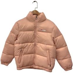 vaatteet Lapset Toppatakki Fila 688419 Vaaleanpunainen