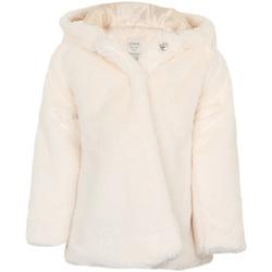 vaatteet Tytöt Paksu takki Losan 026-2795AL Valkoinen