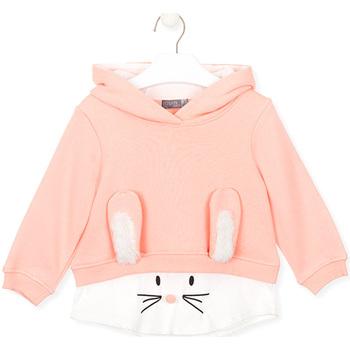 vaatteet Lapset Svetari Losan 026-6024AL Vaaleanpunainen