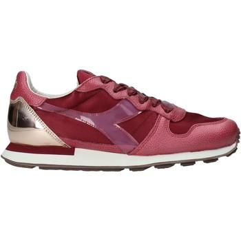 kengät Naiset Matalavartiset tennarit Diadora 201172775 Punainen