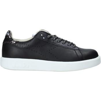 kengät Naiset Matalavartiset tennarit Diadora 201173881 Musta