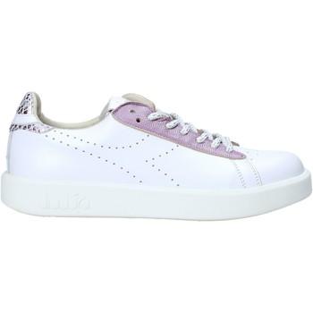 kengät Naiset Matalavartiset tennarit Diadora 201173881 Valkoinen