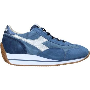 kengät Naiset Matalavartiset tennarit Diadora 201173898 Sininen