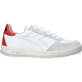 kengät Miehet Matalavartiset tennarit Diadora 201174751 Valkoinen