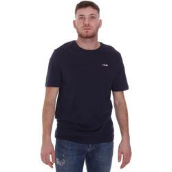 vaatteet Miehet Lyhythihainen t-paita Fila 682201 Sininen