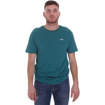 vaatteet Miehet Lyhythihainen t-paita Fila 682201 Vihreä