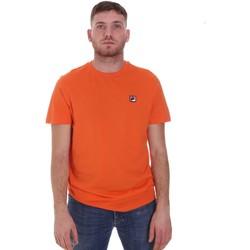 vaatteet Miehet Lyhythihainen t-paita Fila 682393 Oranssi