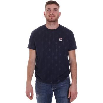 vaatteet Miehet Lyhythihainen t-paita Fila 687884 Sininen