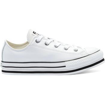kengät Lapset Matalavartiset tennarit Converse 669709C Valkoinen