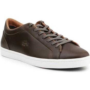 kengät Miehet Derby-kengät & Herrainkengät Lacoste Straightset 316 3 Cam Ruskeat