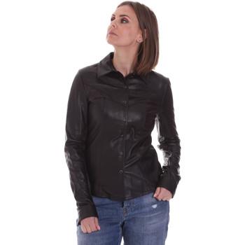 vaatteet Naiset Paitapusero / Kauluspaita La Carrie 092P-C-110 Musta