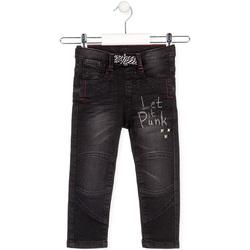 vaatteet Lapset Suorat farkut Losan 025-6029AL Musta