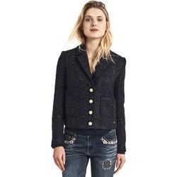 vaatteet Naiset Takit Gaudi 821BD35025 Musta