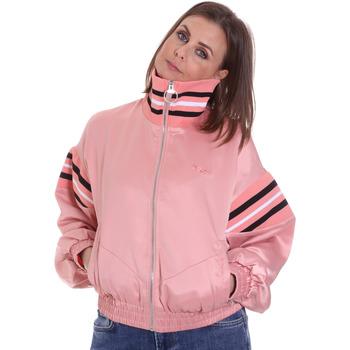 vaatteet Naiset Takit Fila 687931 Vaaleanpunainen