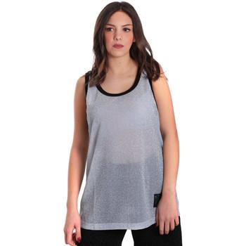vaatteet Naiset Hihattomat paidat / Hihattomat t-paidat Converse 10007415 Harmaa