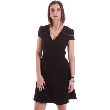 vaatteet Naiset Lyhyt mekko Dixie A529M068 Musta