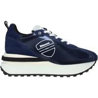 kengät Miehet Tennarit Blauer F0MABEL01/NYL Sininen