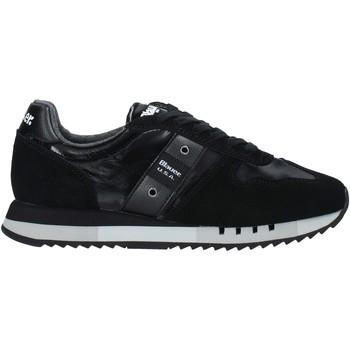 kengät Miehet Tennarit Blauer F0MELROSE01/NYL Musta