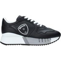 kengät Miehet Tennarit Blauer F0MYRTLE02/LEA Musta