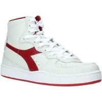 kengät Naiset Korkeavartiset tennarit Diadora 501.171.823 Valkoinen