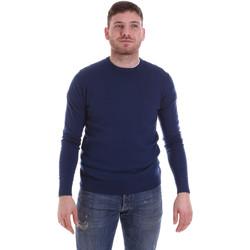 vaatteet Miehet Neulepusero John Richmond CFIL-117 Sininen