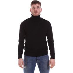 vaatteet Miehet Neulepusero John Richmond CFIL-007 Musta