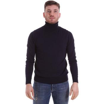 vaatteet Miehet Neulepusero John Richmond CFIL-007 Sininen