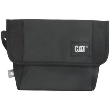 laukut Olkalaukut Caterpillar Detroit Courier Bag Mustat