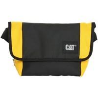 laukut Laukut Caterpillar Detroit Courier Bag Mustat, Keltaiset