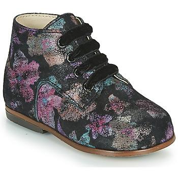 kengät Tytöt Korkeavartiset tennarit Little Mary MILOTO Musta