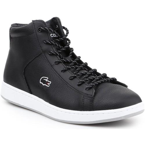 kengät Naiset Korkeavartiset tennarit Lacoste 30SPW4113 black
