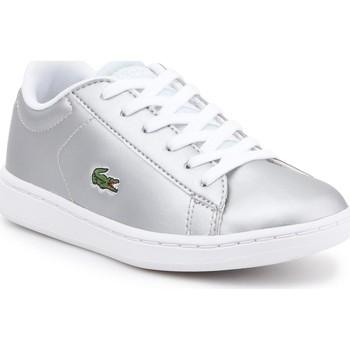 kengät Lapset Matalavartiset tennarit Lacoste kids 7-34SPC0006334 silver
