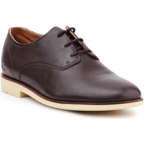 kengät Miehet Derby-kengät Lacoste Crosley Prem116 1 CAM 7-31CAM0110176 brown