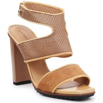 kengät Naiset Sandaalit ja avokkaat Lacoste 7-25SRW1201158 brown