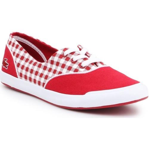 kengät Naiset Matalavartiset tennarit Lacoste Lancelle Lace 3 7-31SPW0044047 red