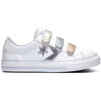 kengät Lapset Matalavartiset tennarit Converse Star player 3v ox Valkoinen