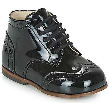 kengät Tytöt Korkeavartiset tennarit Little Mary LORD Musta