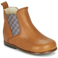 kengät Tytöt Bootsit Little Mary ARON Ruskea