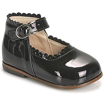 kengät Tytöt Balleriinat Little Mary VOCALISE Musta